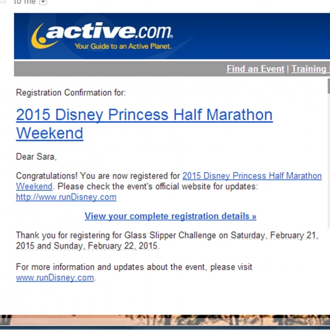 Princess Registration